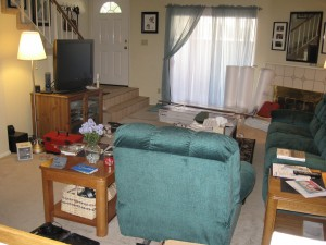 Living room before #3