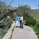 Carol and me at the Wild Animal Park.