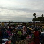 Perfect vantage point for the (unfortunately canceled) Space Shuttle launch