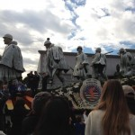 The Department of Defense sponsored a Rose Parade float to commemorate the 60th anniversary of the Korean War. My grandpa was a veteran of that war and he would have been proud to see it!