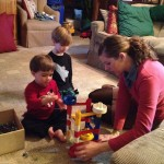 We loved getting to see and play with our nephews at Christmas.