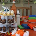 Space shuttle cupcake stand!
